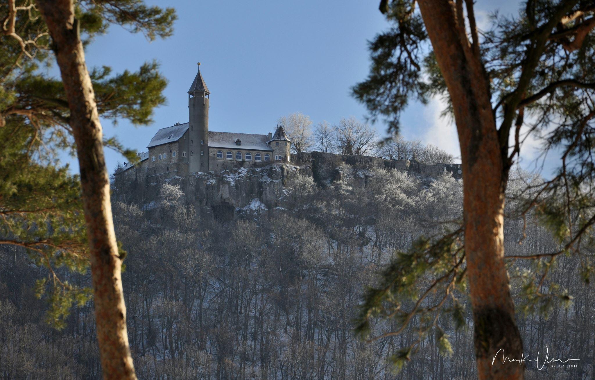 Burg Teck im Winter