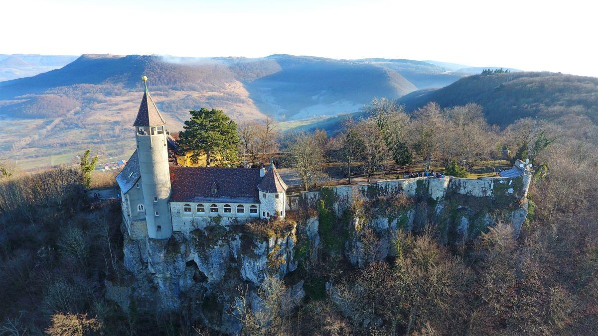 Burg Teck bei Kirchheim Teck