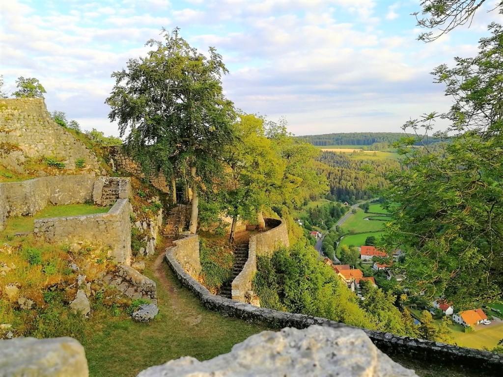 Der Burggarten der Hohengundelfingen