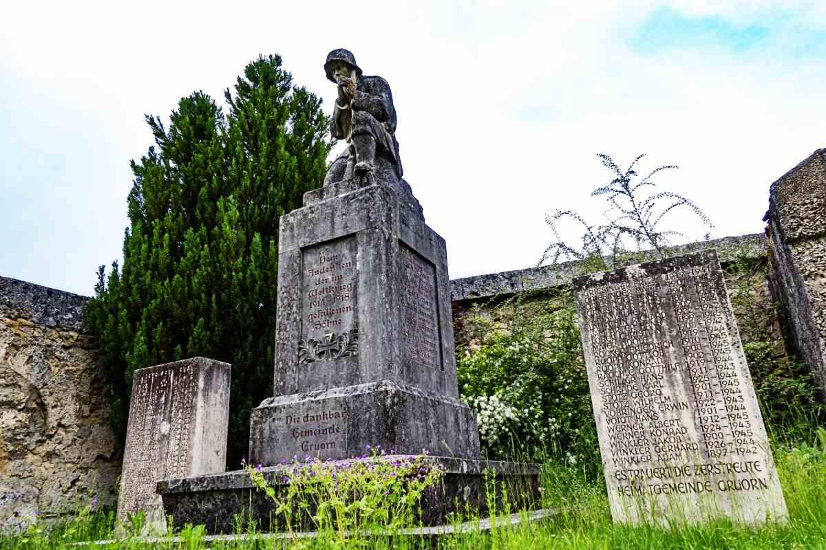 Kriegerdenkmal Gruorn