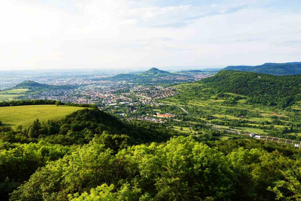 Aussicht vom Schönbergturm