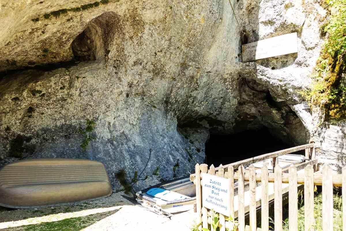 Wimsener Höhle Eingang