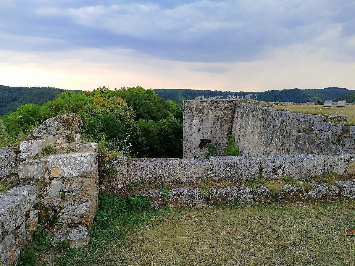 Burg Hohenurach Gelände