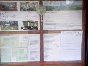 Speisekarte Auszug Altes Forsthaus
