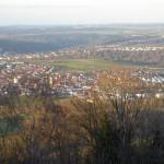 Schöne Aussicht von der Burg