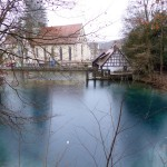 Blautopf mit Kloster