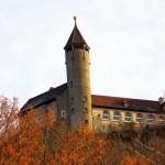 Die Burg Teck im Februar 2017