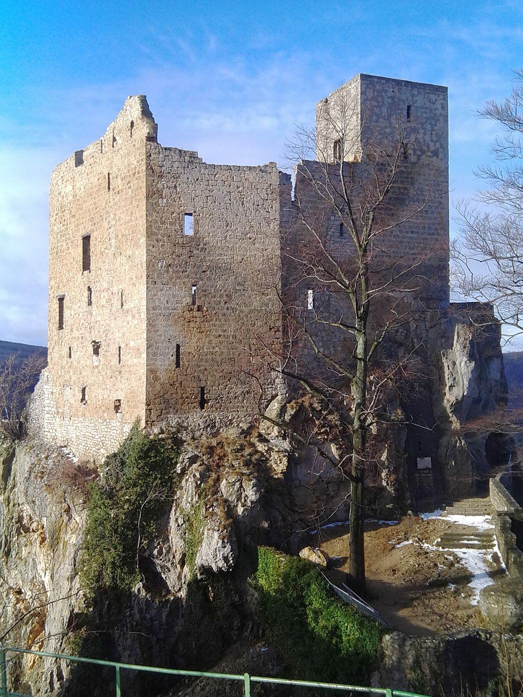 Ruine Reußenstein auf der Schwäbischen Alb