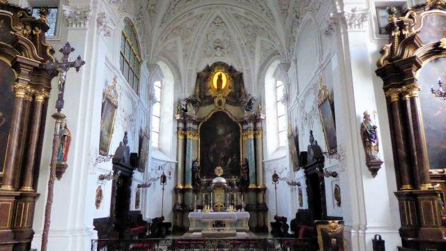 Schlosskirche Hohenstadt Altar