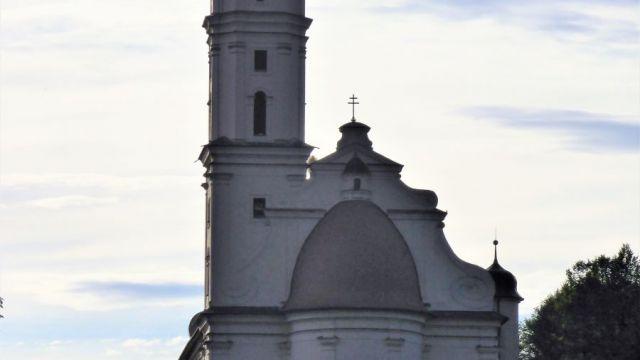 Schlosskirche Hohenstadt von hinten