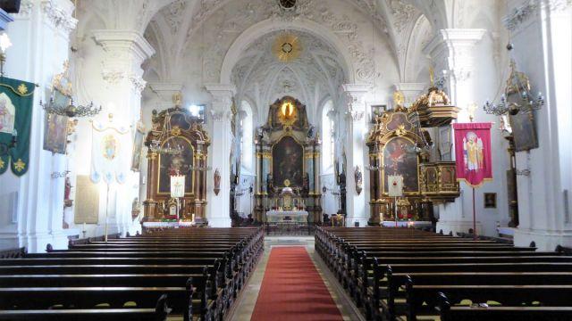 Schlosskirche Hohenstadt von Innen
