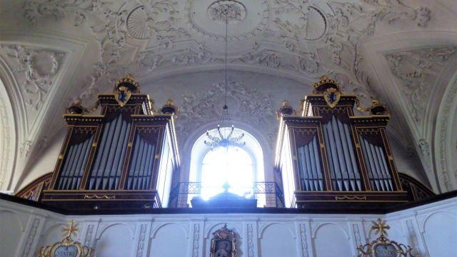Orgeln in der Wallfahrtskirche Hohenstadt