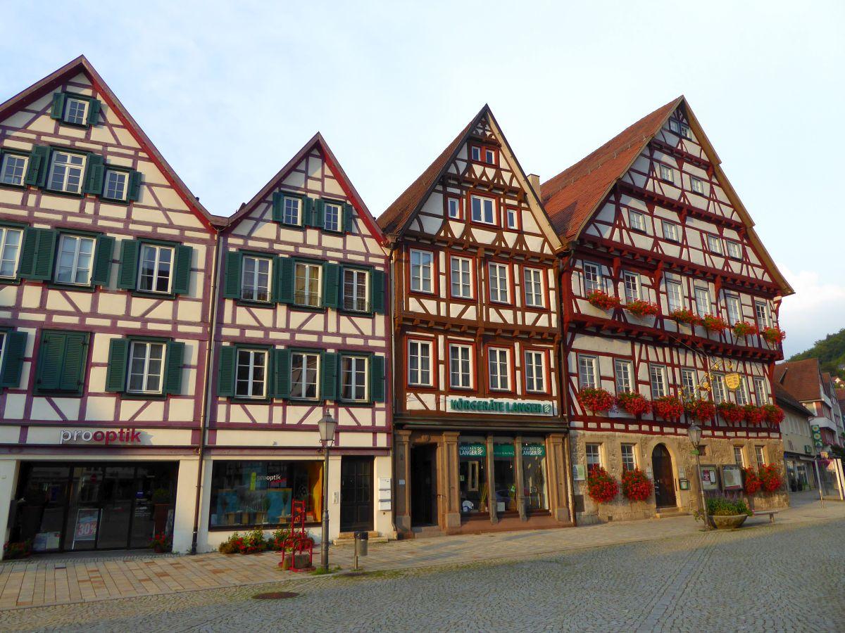 Fachwerkhäuser in Bad Urach