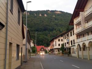 Hauptstrasse durch Lichtenstein-Honau