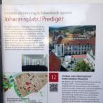 Infotafel Johannisplatz