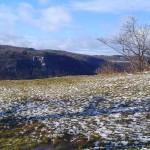 Ausblicksfelsen vor Ruine Reußenstein