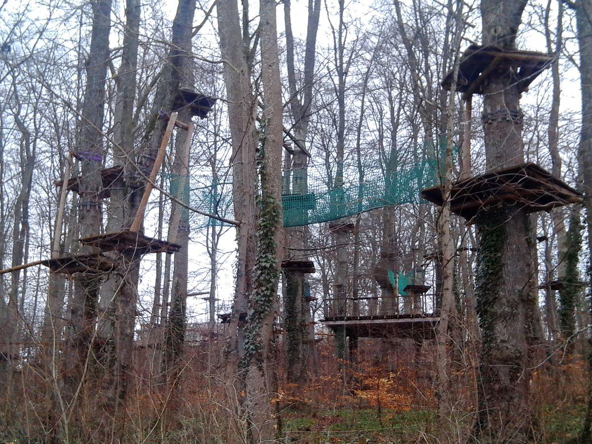Abenteuerpark / Kletterpark Schloss Lichtenstein