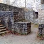 Innenhof Ruine Reußenstein