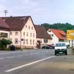 Lichtenstein Holzelfingen Durchfahrt