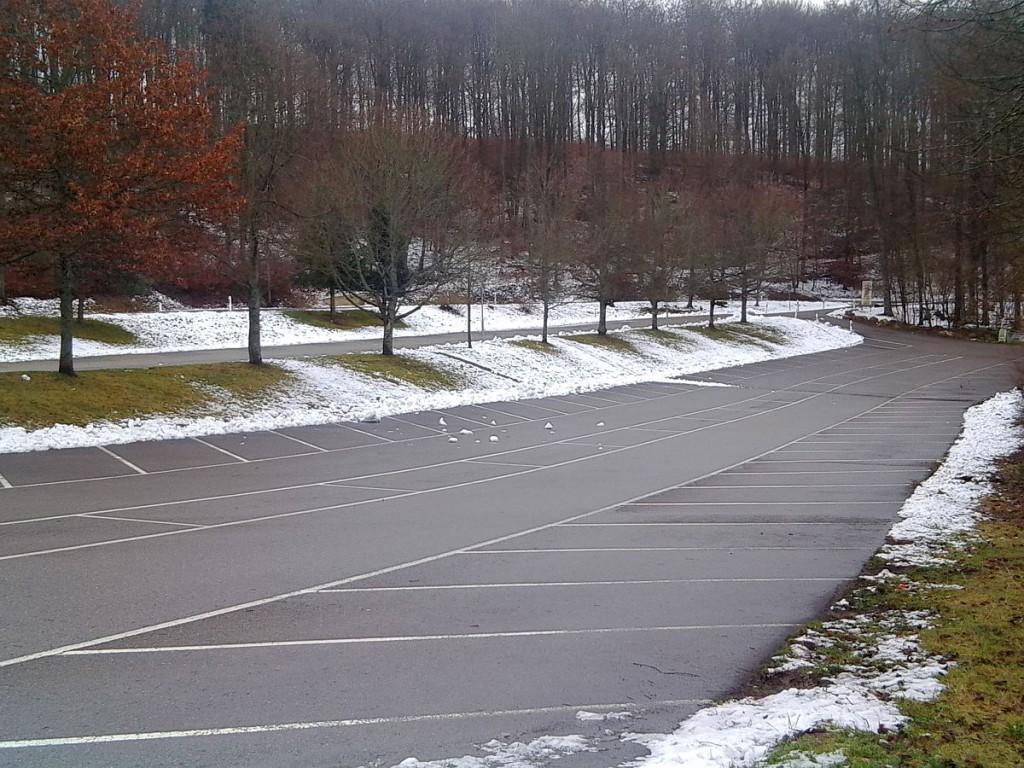Parkplatz am Schloss