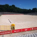 Die Arena in Marbach