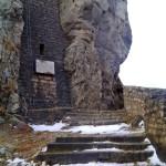 Eingang Ruine Reußenstein