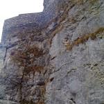 Hoch auf dem Felsen