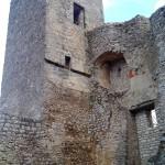 Turm der Reußenstein Ruine
