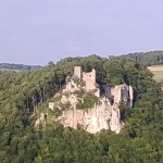 Blick auf Ruine Reussenstein