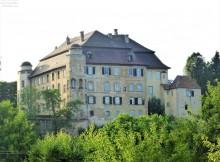 Schloss Hohenstadt auf der Rückseite