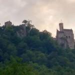 Schloss Lichtenstein - Blick aus Honau
