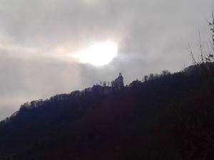 Schloss Lichtenstein von Honau aus