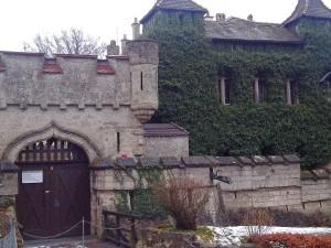 Schloss Eingang