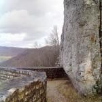 Vorhof Ruine Reußenstein