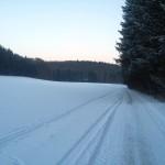 Viel Schnee auf der Alb am 07.01. :)