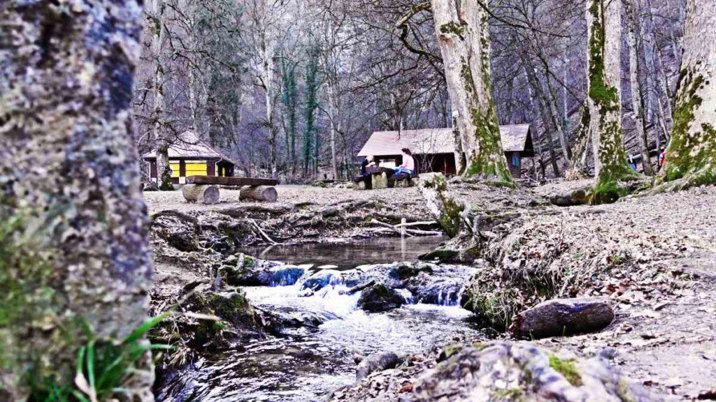 Das Wasserfallhaus